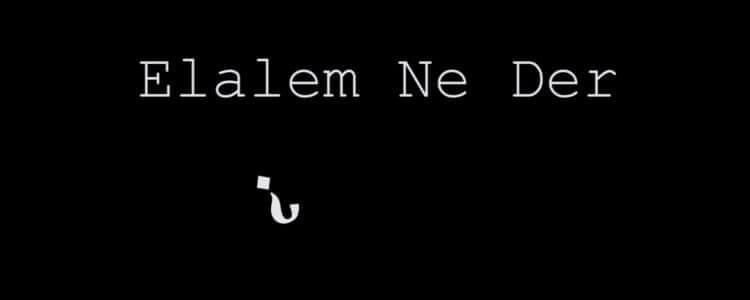 Elalem Ne Der
